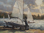 BOWMOOR LAKE 8X12 OIL #2611.JPG