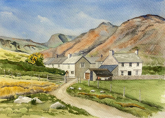 Ian Millar 3.Lake District farm.Ian Mill