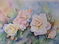 Val Cosway Summer Roses (1).JPG