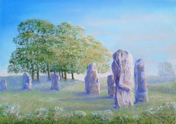 Early Evening, Avebury