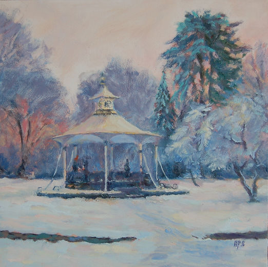Hilary Sinclair Bandstand in winter.jpg