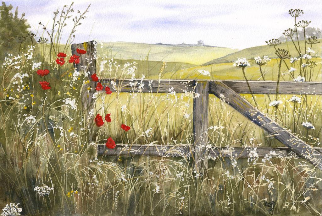 Poppy gate