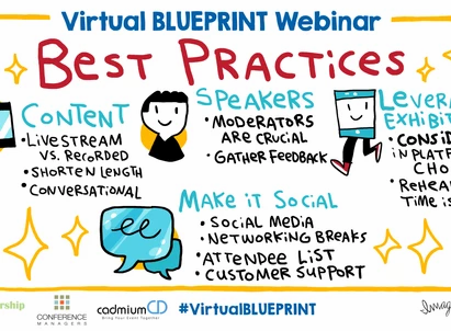 16 Best Practices to Rock Your Virtual Event Content, Exhibits, Sponsorships, and Networking