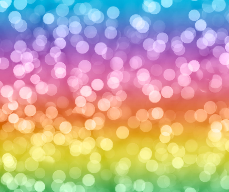 Rainbow Colorful Background With Natural