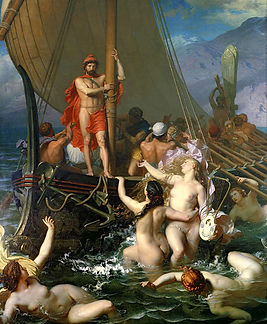 Ulysses_And_The_Sirens_by_Léon_Belly.jp