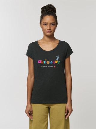 T-shirt Rounder Black