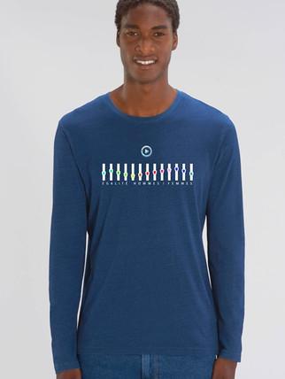 T-shirt Shuffler Denim