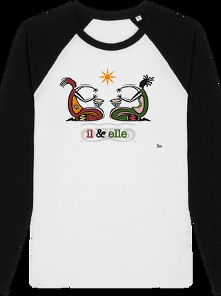 T-shirt Il & Elle (unisexe)