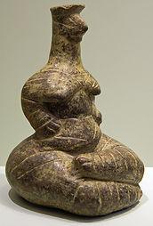 Grande divinité mère, musée archéolo