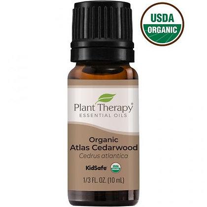 Organic Atlas Cedarwood Essential Oil