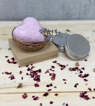Mi Amor Rose Pedal Bath Bomb