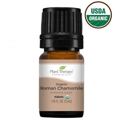 Organic Chamomile Roman Essential Oil