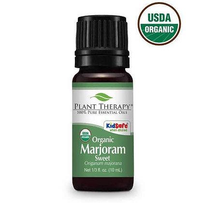 Organic Marjoram Sweet Essential Oil
