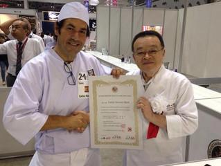 El chef malagueño Carlos Navarro obtiene una de las cinco menciones del jurado en la final de la Wor