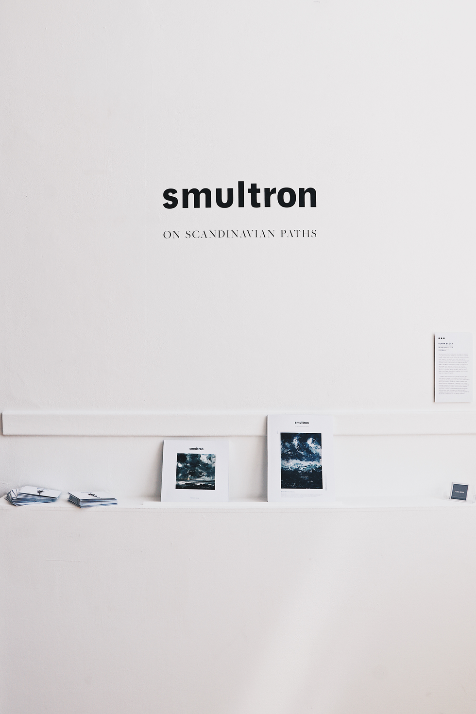 Smultron – Ausstellung: Degree Show Cambridge School of Art 2018