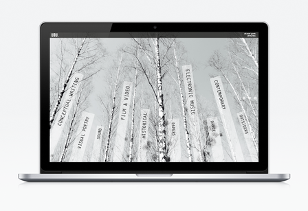User Interface Design: Künstlerportal