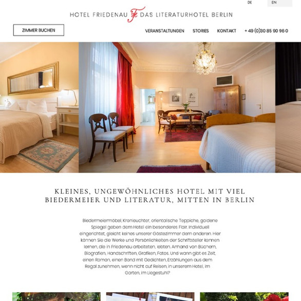 Website: Literaturhotel Berlin