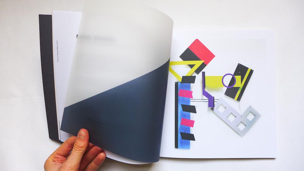 Fine Art Degree Show Catalogue – Transparenz