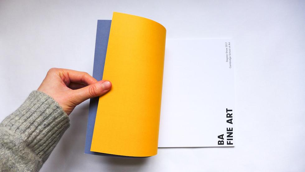 Fine Art Degree Show Catalogue