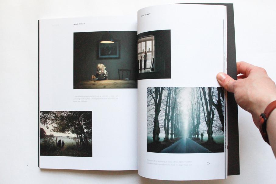 Smultron – Layout mit Bildern