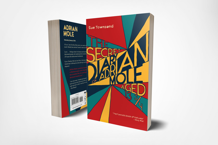 Penguin Student Design Award 2017 – The Secret Diary of Adrian Mole