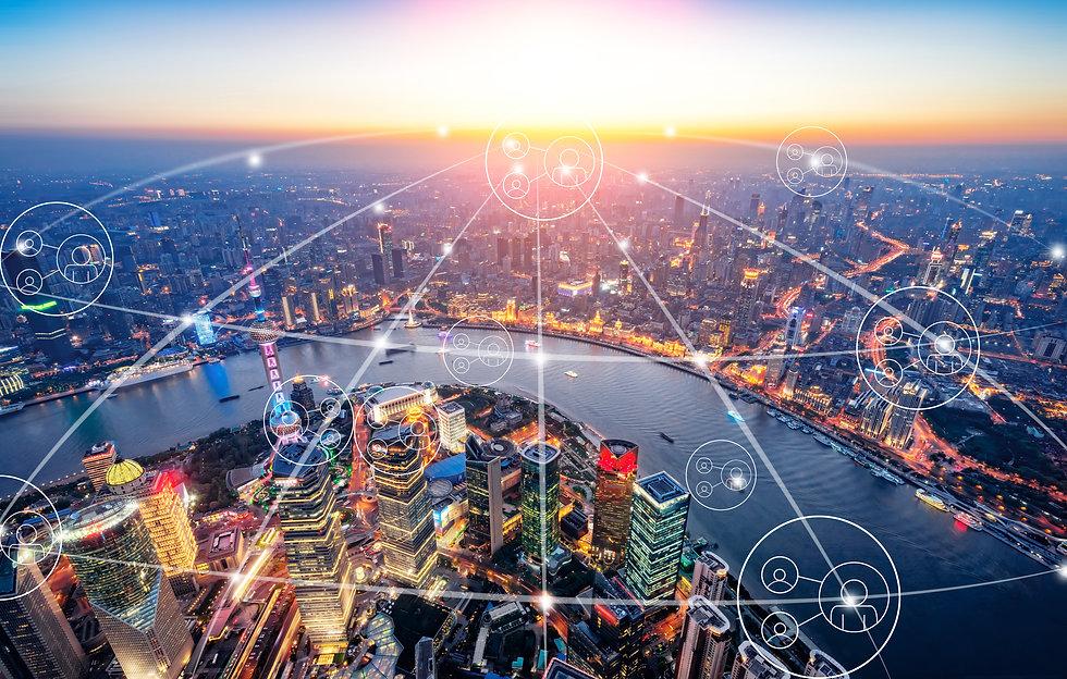 Big data - den uppkopplade staden Shanghai