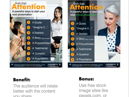 Match your Powerpoint slide images to your audience