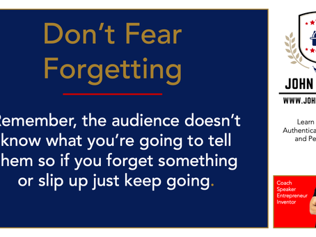 Don't Fear Forgetting
