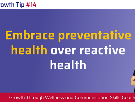 Choose Prevention Over Reaction