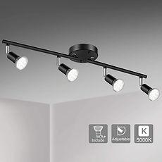 Unicozin LED 4 Light Track Lighting Kit,