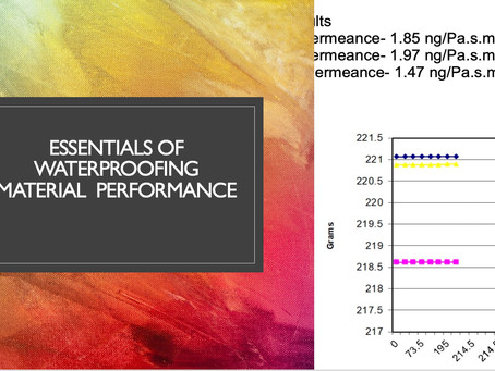Essentials of Waterproofing Material Performance