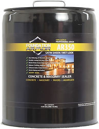 Wet Look Sealer for Concrete and Pavers.