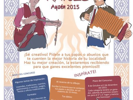 """Fundación Raíces Vivas lanza Concurso: """"Pintando Nuestras Raíces- Aysén 2015"""""""