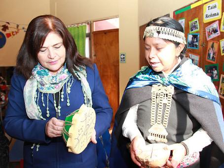 """Verónica Maliqueo , Asesora Intercultural JUNJI, RM: """"Queremos difundir la enorme riqueza cultural q"""