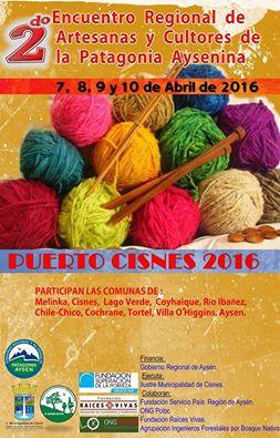 ¡Ya comienza el 2° Encuentro de Artesanas y Cultores de la Patagonia Aysenina en Puerto Cisnes!