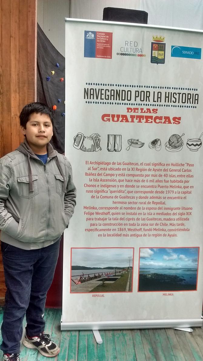 """Entrevista a Juvenal Colivoro: Participante del Concurso """"Pintando nuestras Raíces"""" de Las Guaitecas"""