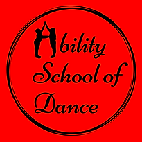 Ability School of Dance Logo Red PNG.png