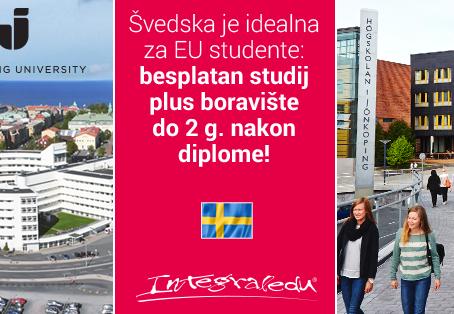 Jönköping University - besplatan studij i boravište nakon diplome u Švedskoj!