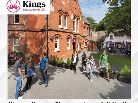 Kings Colleges - Obrazovanje za cijeli život | 50% popusta na školarinu