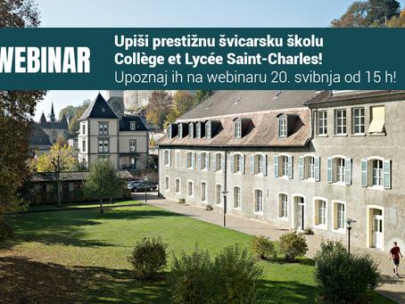 Upiši prestižnu švicarsku školu Collège et Lycée Saint-Charles!