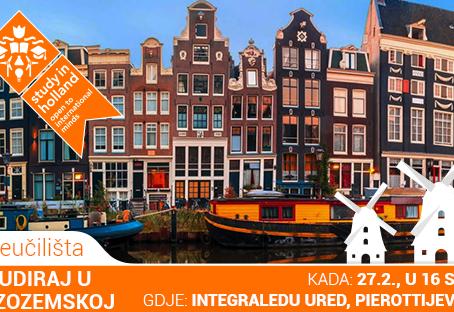 Drugačija karijera ili što ti studij u Nizozemskoj može ponuditi?