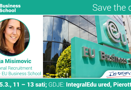 Upoznaj predstavnicu EU Business School!
