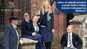 St Bees School u Velikoj Britaniji nudi popust na školarinu!