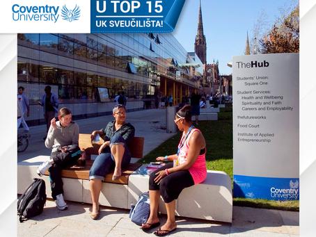 Studiraj bez kompromisa - iskoristi kasne prijave na Coventry University