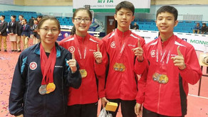 CSS Student won Table Tennis Gold Medals in Mongolia