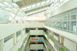 Glass Roof over Block C Atrium