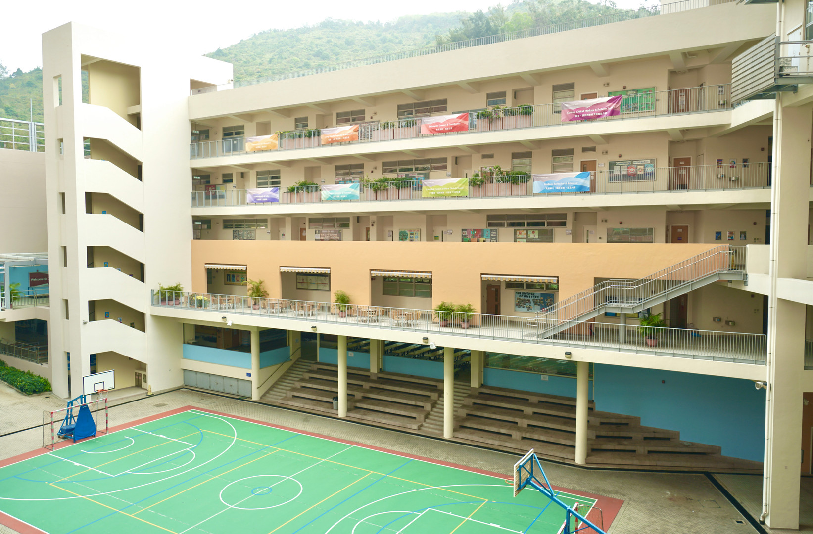 Block B & Ball Court B