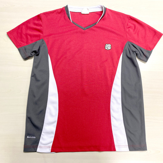 (夏季) 運衣 (紅色 - 紅棉社) (Summer) PE T-shirt (Bombax)