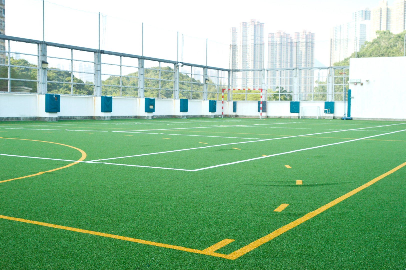 Astroturf Multipurpose Ball Court