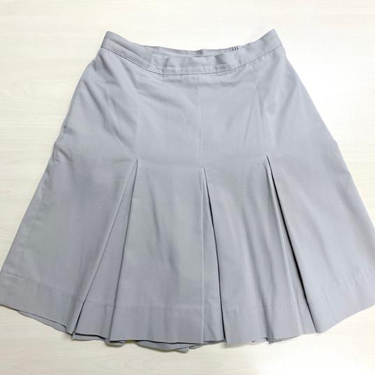 (夏季) 高中淺灰裙褲 (Summer) F.4 - F.6 Girl Divided Skirt